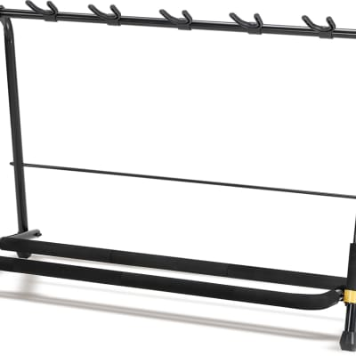 Hercules GS525B 5-Piece Guitar Rack Stand