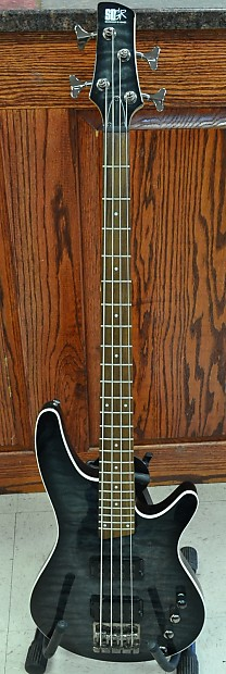Ibanez SRX3EXQM1 4-String Bass Guitar with Quilt Maple Top | Reverb