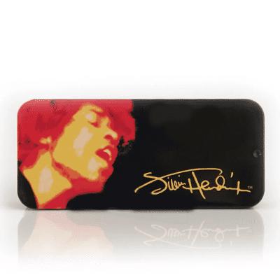Dunlop JHPT03H Jimi Hendrix Signature Electric Lady Heavy Guitar Pick Tin (12-Pack)