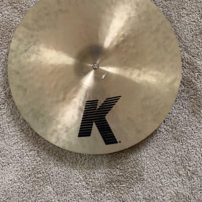 "Zildjian 16"" K Series Dark Medium Thin Crash Cymbal"