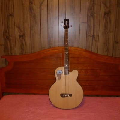 Olympia Acoustic Bass OB3CE  Natural for sale