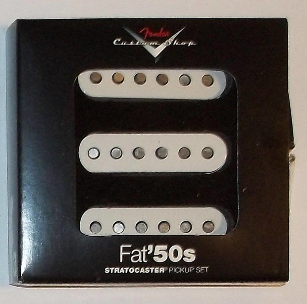 Fender® Custom Shop Fat `50s Stratocaster Pickup Set~099-2113-000~nd on
