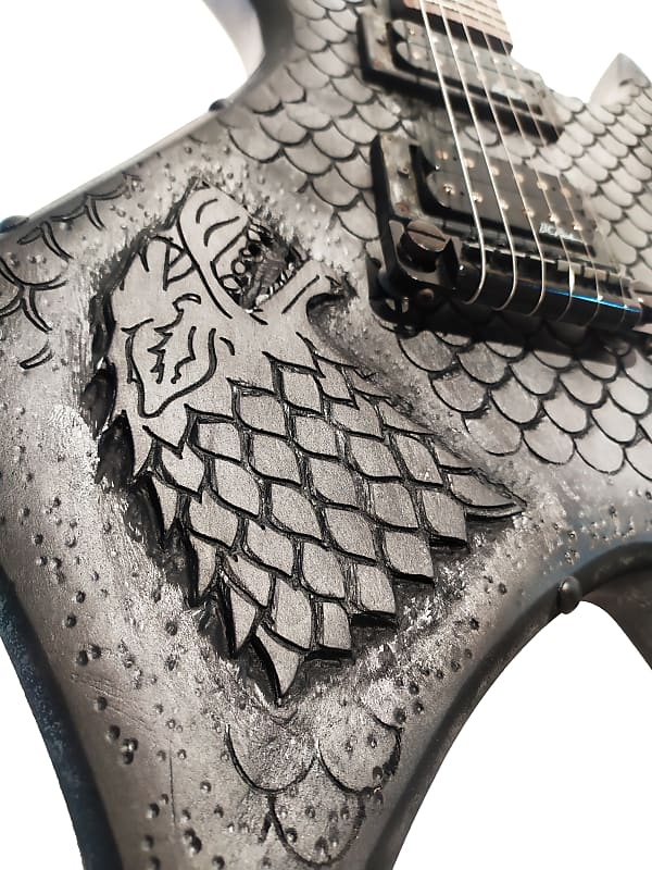 BC Rich Custom Shop Game of Thrones by Martper Guitars
