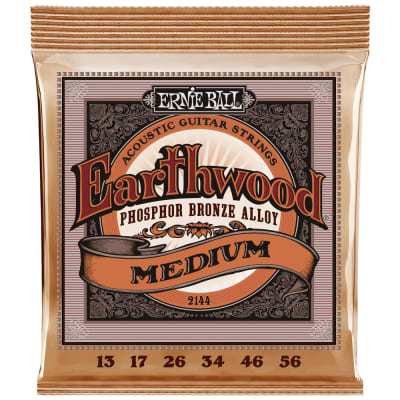Ernie Ball Earthwood Phosphor Bronze Acoustic Medium 2144 .013-.056
