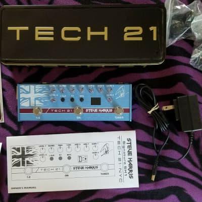 Tech 21 Steve Harris Iron Maiden SH1 Signature SansAmp Guitar Pedal (OPEN BOX) *Mint -Fast/Free Ship