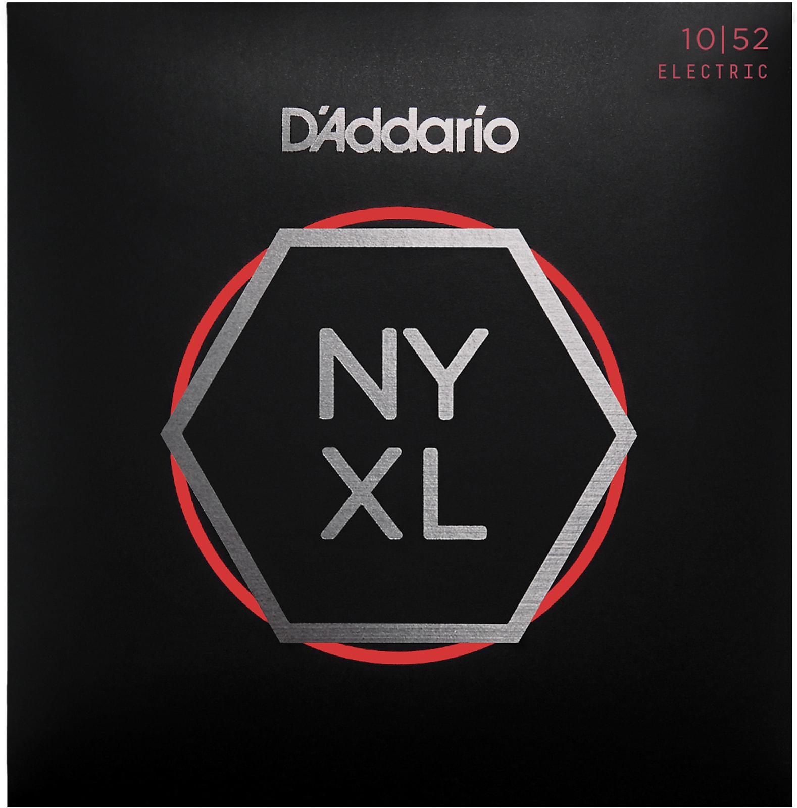 D'Addario NYXL1052 Nickel Wound Electric Guitar Strings, Light Top / Heavy Bott