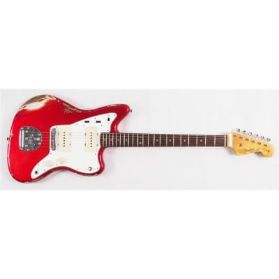 Fender Custom Shop '62 Jazzmaster LTD, Journeyman Relic, Candy Apple Red for sale