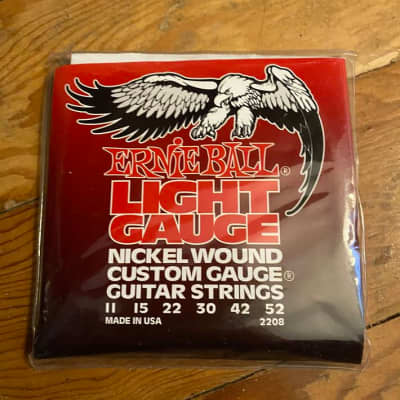 just like NEW factory sealed Ernie Ball *LOT OF 3 sets* 2208 Lt Nickel Wound Electric Guitar Strings