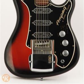 Ampeg Jazz Guitar Split Sound Sunburst
