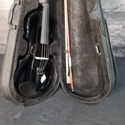 Carlo Robelli CREV55 Electric Violin with Case and Bow for sale
