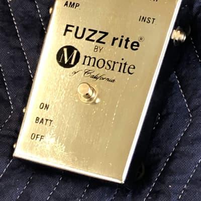 Mosrite Fuzzrite Late 60s Chrome for sale