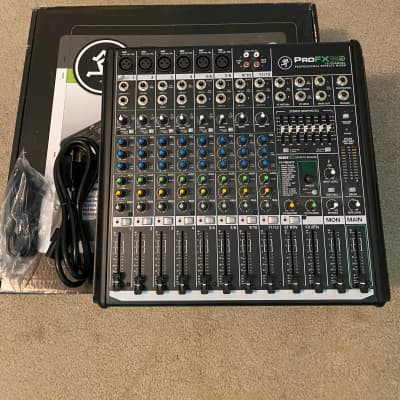 Mackie ProFX12v2 12-Channel Mixer with USB