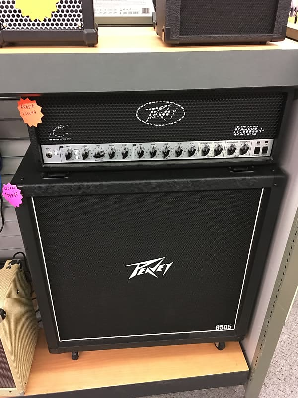 peavey 6505 half stack black pro line music reverb. Black Bedroom Furniture Sets. Home Design Ideas