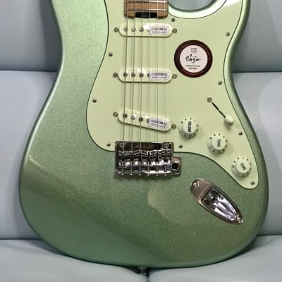 Shijie Guitars STE SSS Stainless 2021 Pearl Green Last piece available for sale