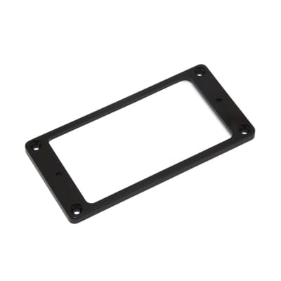 Hosco Pickup Mounting Rings Non-Slanted Flat Top and Bottom (Black, Neck) for sale