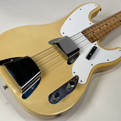 Fender Telecaster Bass 1968 Blond One Owner with Original Case Dusty Hill Ron Wood Tim Bogert for sale