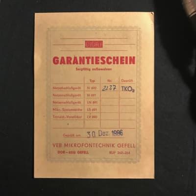 Gefell mv692 + M94 + Tuchel + N692 Power Supply