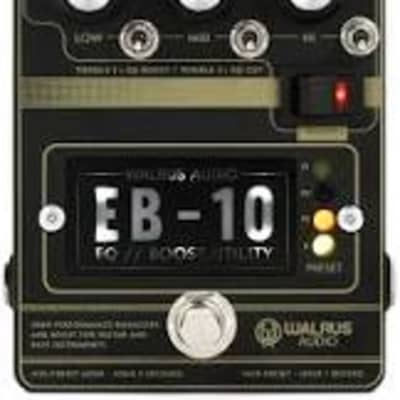 Walrus Audio EB-10 Preamp/EQ/Boost (Black) for sale