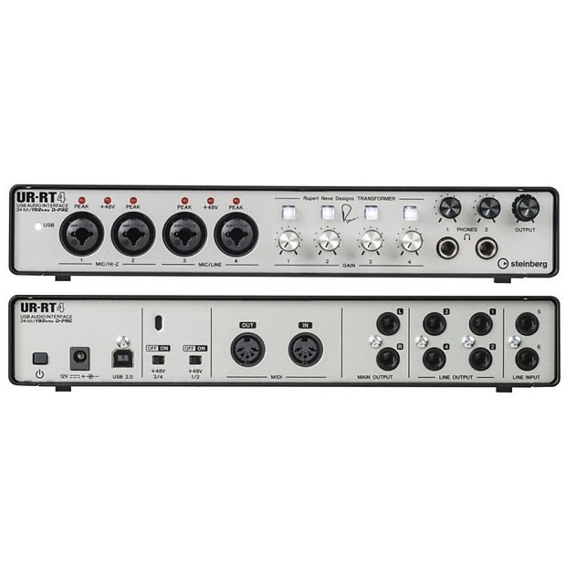 STEINBERG UR-RT4 USB MIDI Recording Interface with Software