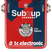 TC Electronic Sub N' Up Octaver 2010s Red image