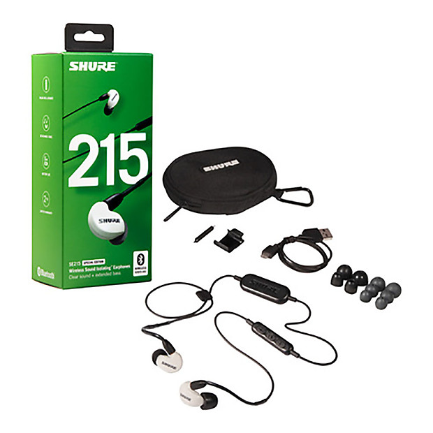 f502ece29da Shure SE215 Special Edition Sound Isolating Earphones with | Reverb