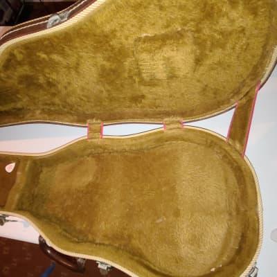 Gibson  Lifton Case 70s Tan With Brown Interior