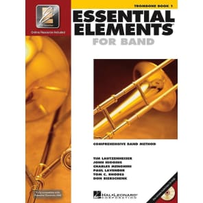 Hal Leonard Essential Elements for Band - Trombone Book 1 with EEi