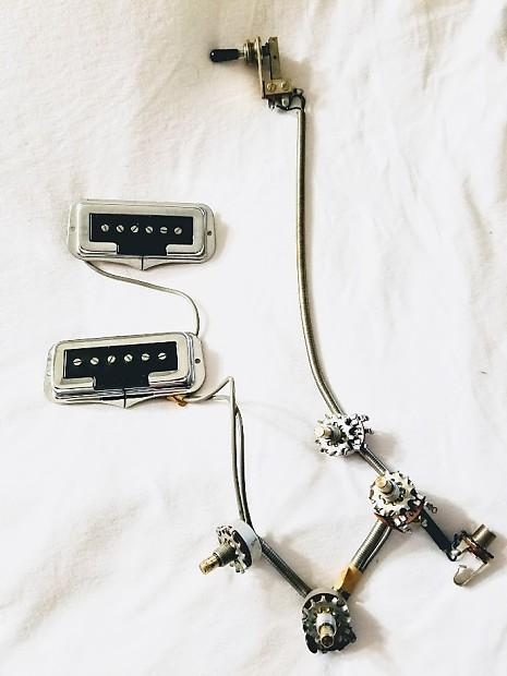 [FPER_4992]  Fender Coronado II Wiring Shielded Harness, Pots, Pickups,   Reverb   Fender Coronado 2 Wiring Diagram      Reverb