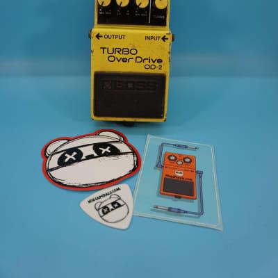 Boss OD-2 Turbo OverDrive  | Rare ACA Version | Fast Shipping!
