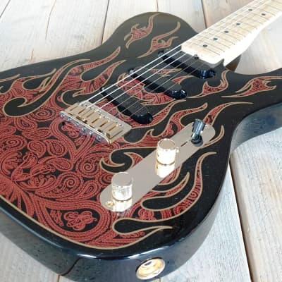 Fender James Burton Artist Series Signature Telecaster 2015 Red Flame for sale