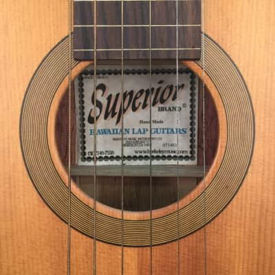 Superior Hawaiian Lap Steel Guitar 2014 for sale