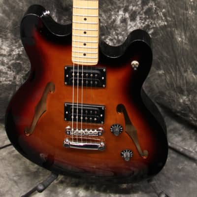 Squier Affinity Starcaster Semi-Hollow Electric Guitar Sunburst for sale