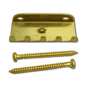 Guitar Parts - FLOYD ROSE - Tremolo Trem Spring Clawhook CLAW HOOK - BRASS
