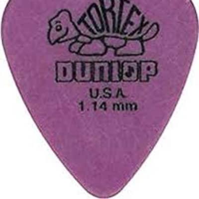 Dunlop TORTEX® STANDARD PICK 1.14MM