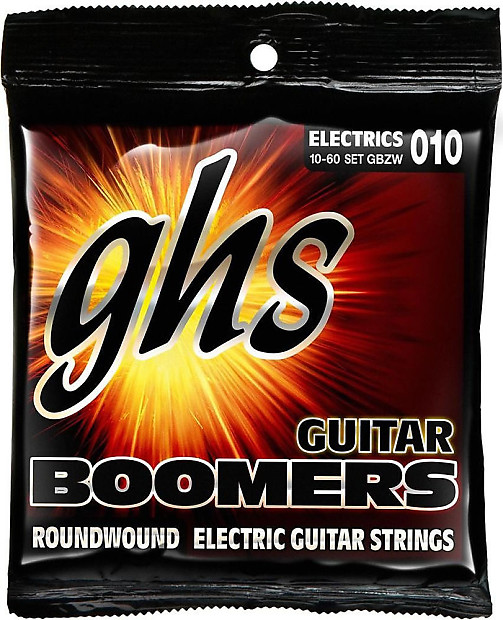 ghs gbzw boomers roundwound electric guitar strings light reverb. Black Bedroom Furniture Sets. Home Design Ideas