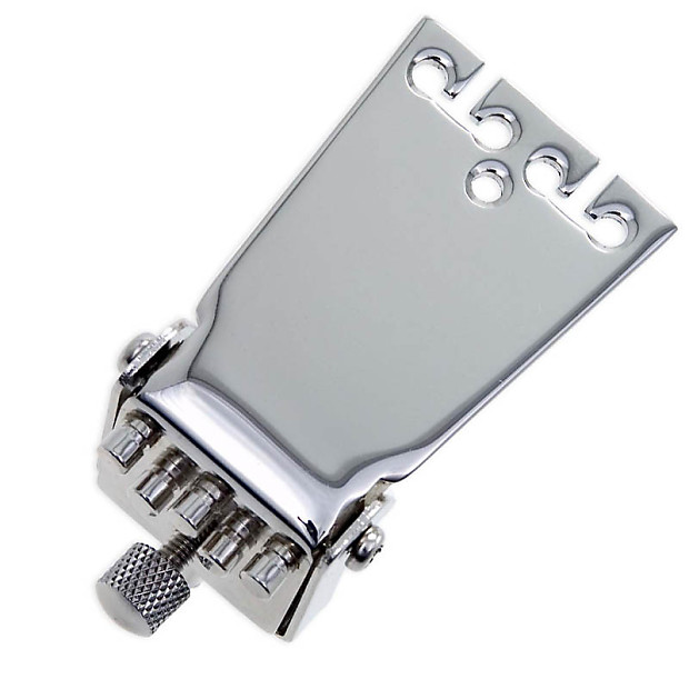 Tyler Mountain Old Style Waverly Banjo Tailpiece - Nickel