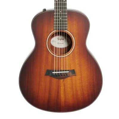 Taylor GS Mini-e Koa Plus Acoustic-Electric Guitar (with Gig Bag), Shaded Edge Burst