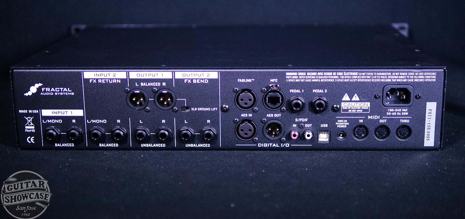 Fractal Audio Axe FX II XL+ Preamp/Effects Processor