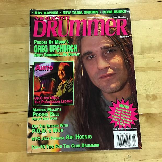 Modern Drummer May 2004 Puddle of Mudd's Greg Upchurch