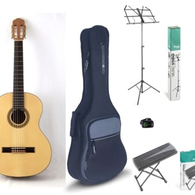 Calido Student Full Size Classical Guitar Package