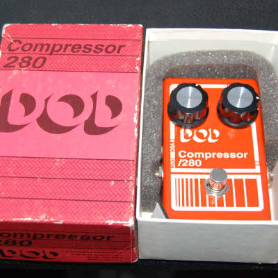 Vintage DOD Compressor 280 Guitar Pedal w/Box + Manual for sale