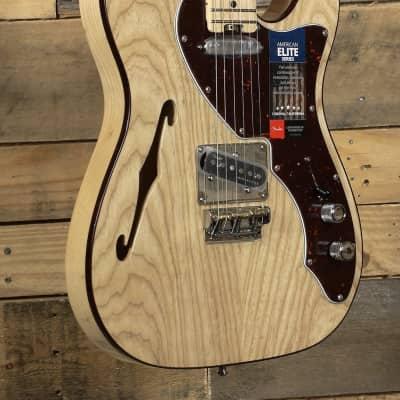 Fender American Elite Telecaster Thinline Natural w/ Case
