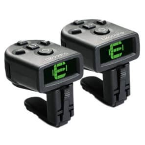 Clip On Tuner 2 Pack D'Addario NS Micro Guitar Bass Free 2 Day Shipping