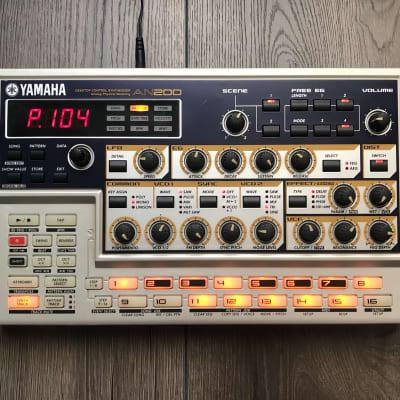 Yamaha  AN200 Desktop Synthesizer Sequencer   + PLG 150-AN Modular Synthesis  Card+ Adapter  AN1X