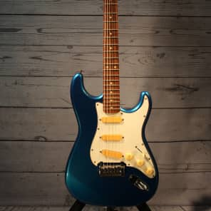 Fenix Stratocaster Electric Guitar 90s Blue MIK for sale