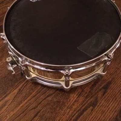 """Pear Free-Floating 14x5"""" Brass Snare Drum"""