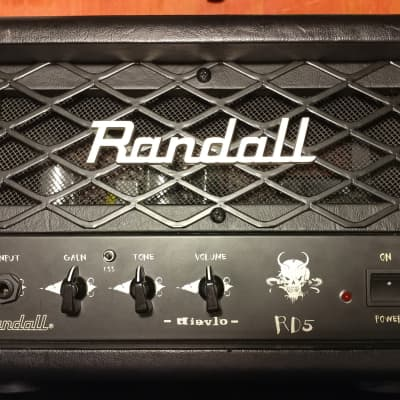 Randall RD5H Diavlo 5-Watt Tube Guitar Amp Head for sale