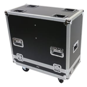 OSP ATA-K10 Flight Case with Wheels for 2 QSC K10 Speakers