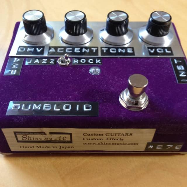 Shin's Music Dumbloid ODS Overdrive Special pedal - deep red velvet image