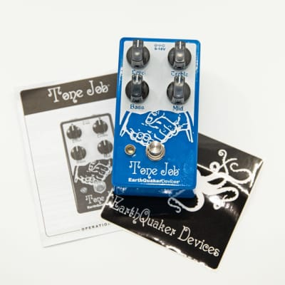 EarthQuaker Devices Tone Job V2 EQ and Boost Guitar Effects Pedal